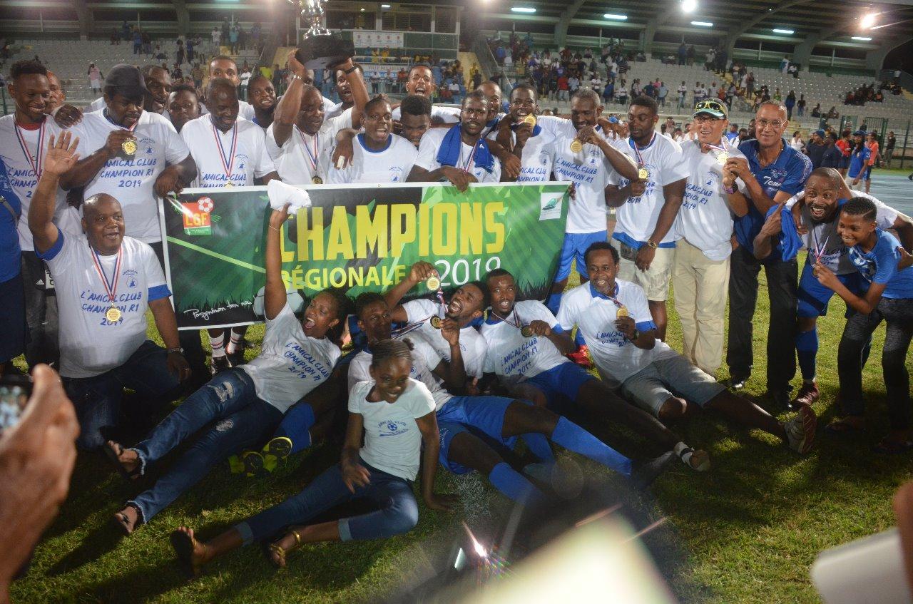 L'Amical Club  sacré champion en régionale 1