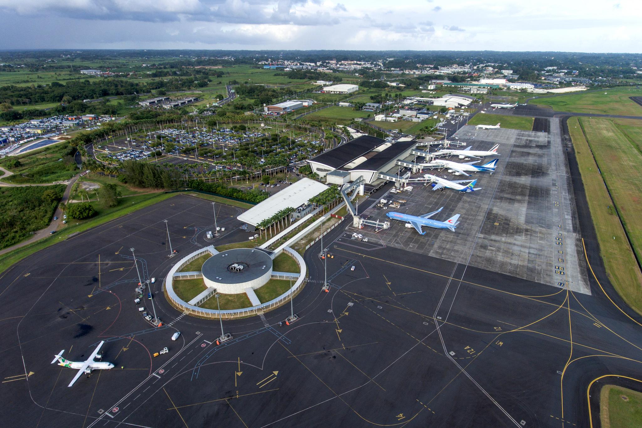 Aéroport de Guadeloupe : les bons chiffres se maintiennent