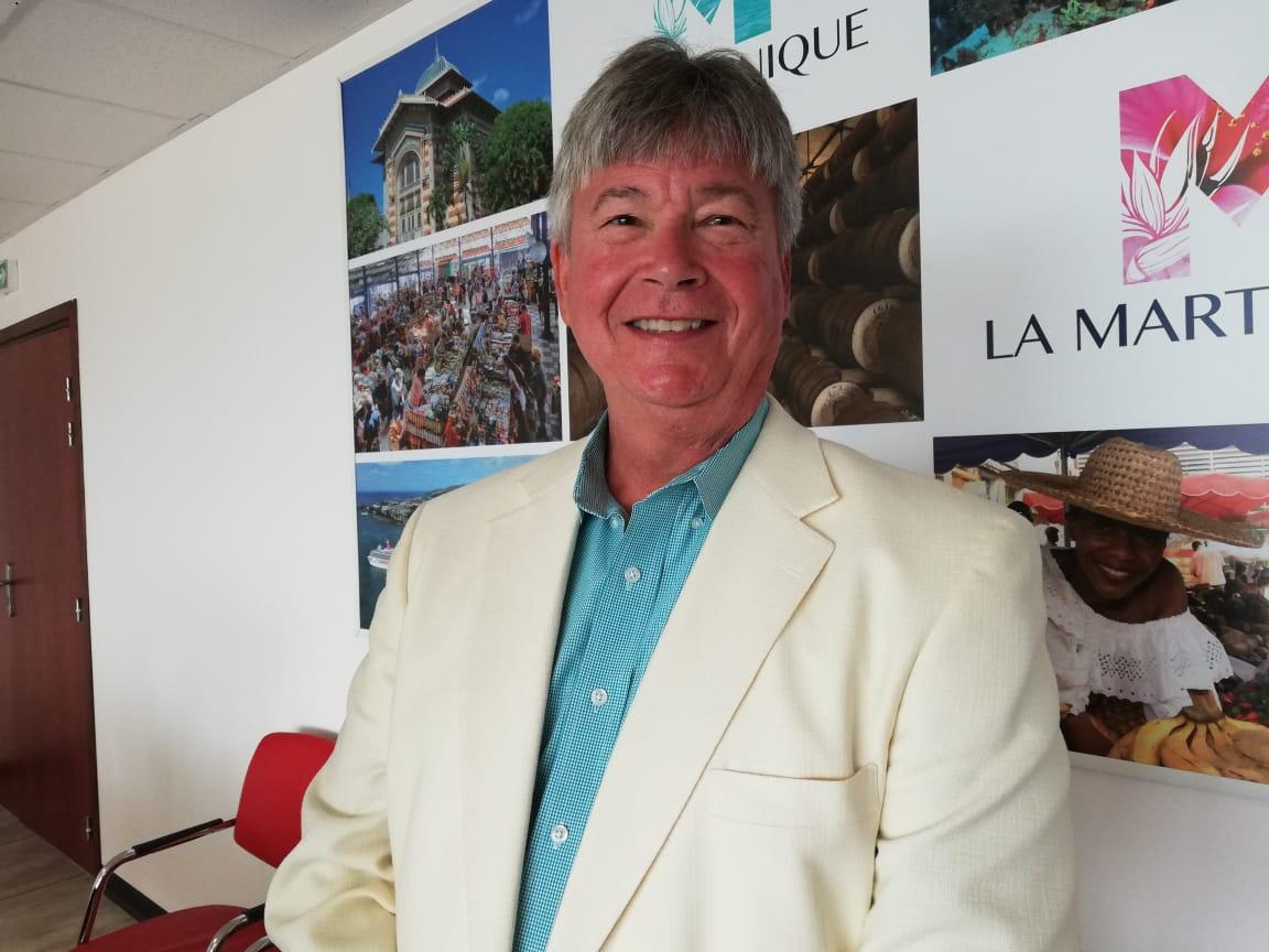 Le vice-président des hôtels Radisson est en Martinique