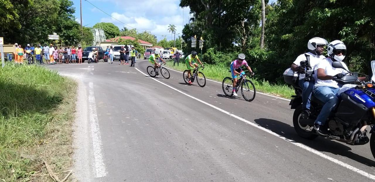 43ème Tour Cycliste de Marie-Galante 4ème étape : minute par minute