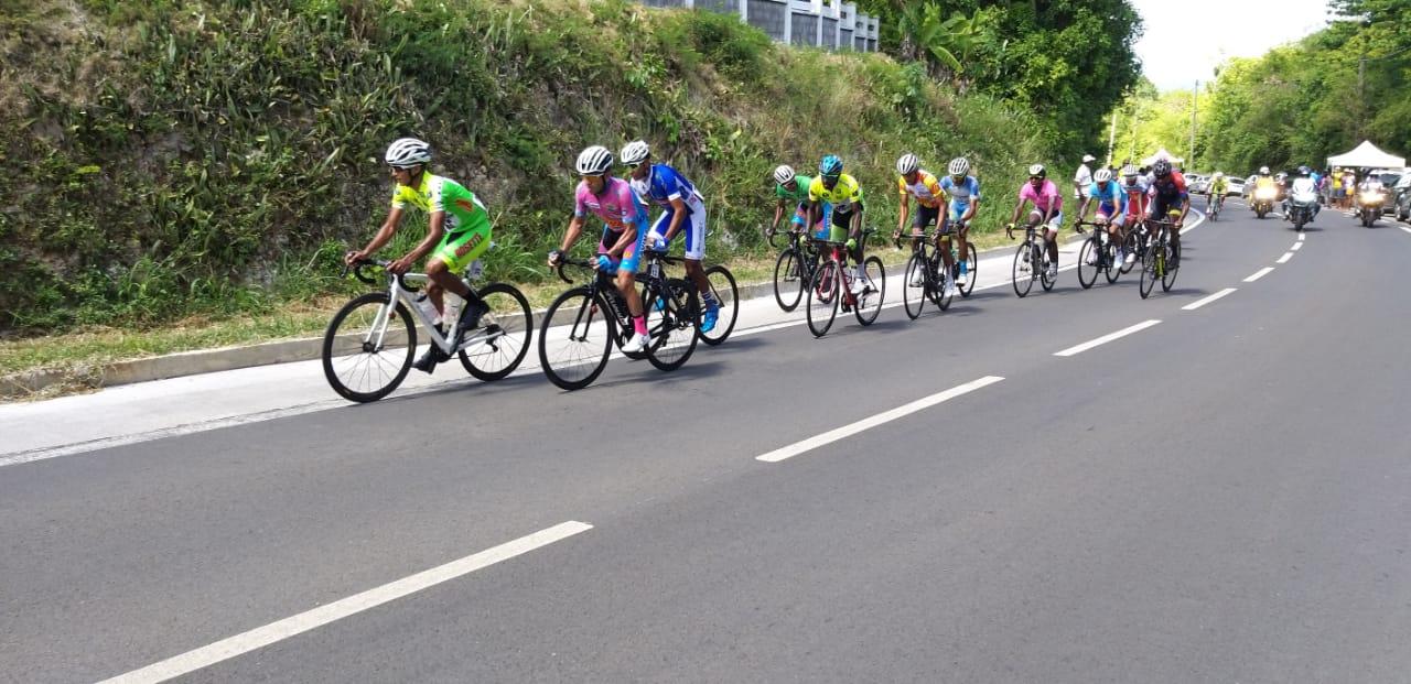 Tour de Marie-Galante, 3ème étape : Jhonathan SALINAS l'emporte au finish