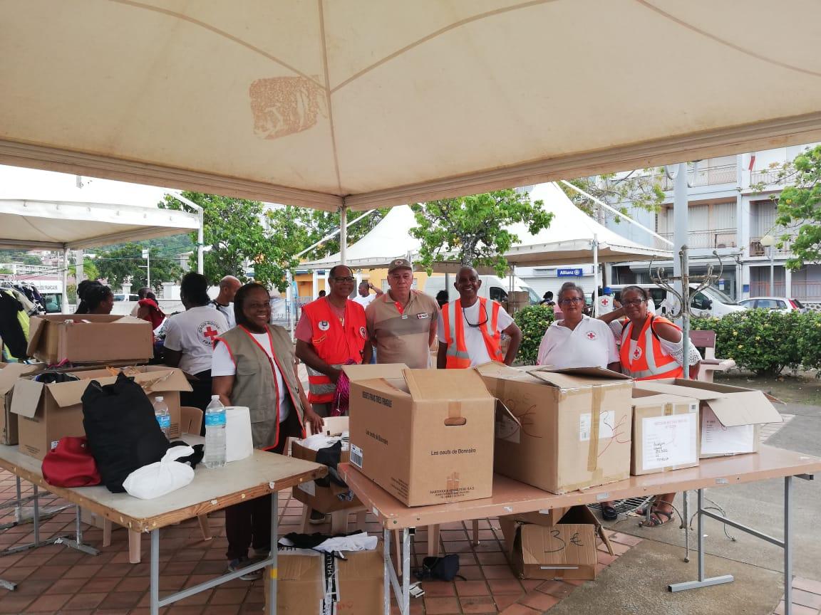 La Croix-Rouge a tenu sa braderie pour collecter des fonds