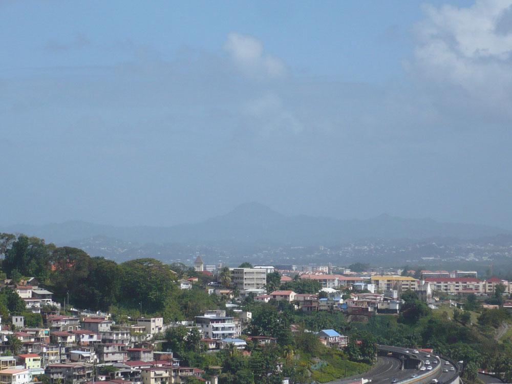 La qualité de l'air s'améliore en Martinique