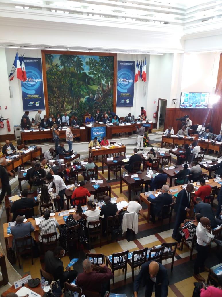 L'avenir de la Guadeloupe au centre des débats du 15ème congrès des élus