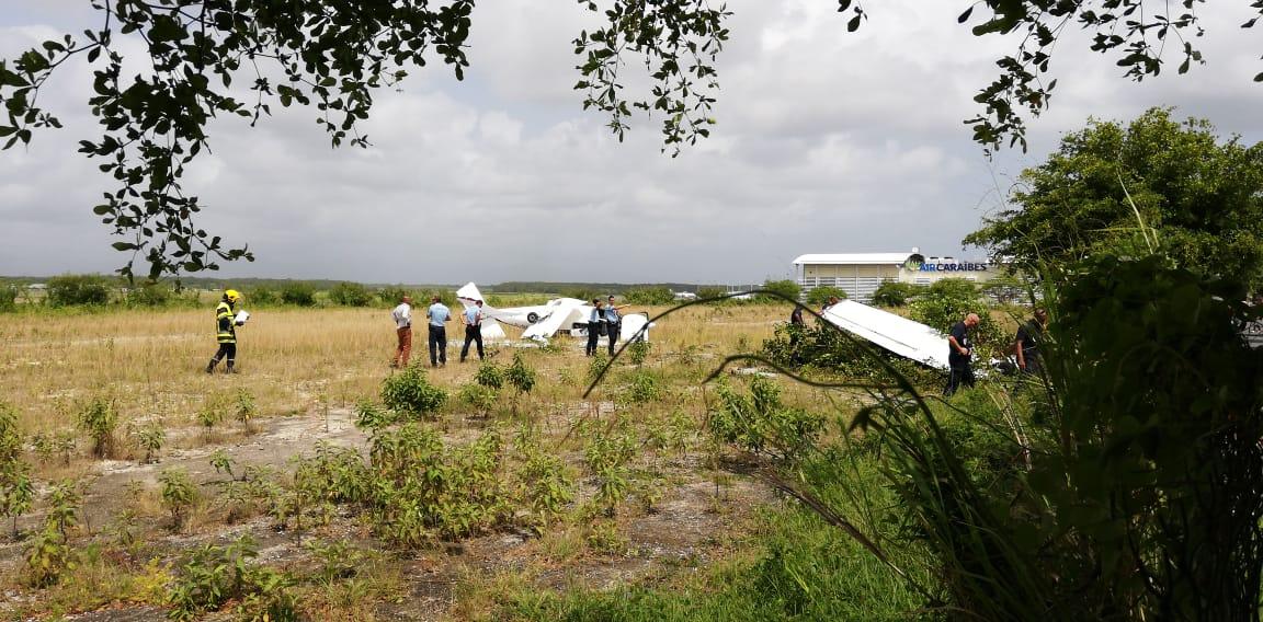 Un blessé léger dans le crash d'un petit avion à Pôle Caraibe
