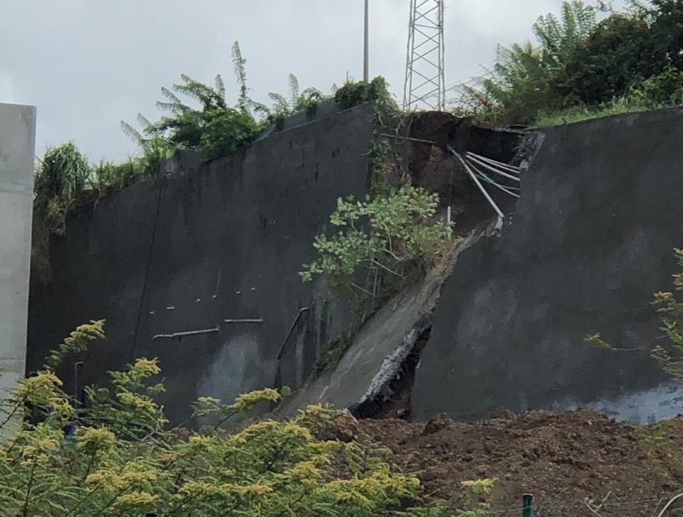 Le glissement de terrain d'Acajou rappelle que ce n'est pas un phénomène rare en Martinique