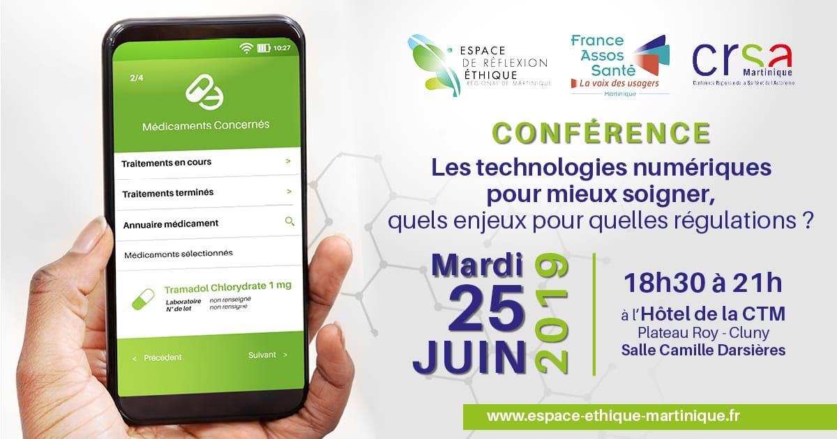 Une conférence sur notre santé à l'ère du numérique.