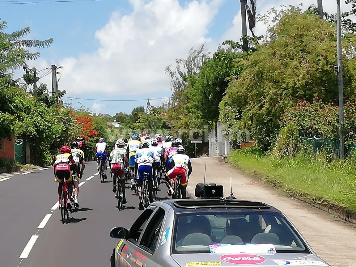 Tour cycliste de Martinique 2019 : Yolan Sylvestre s'adjuge la 6e étape