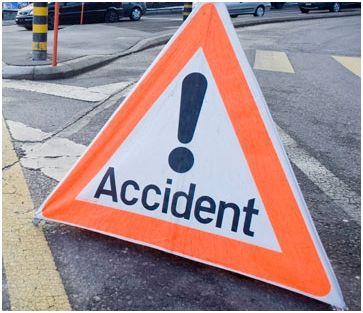 Accident entre deux véhicules à Sainte-Marie Capesterre Belle-Eau