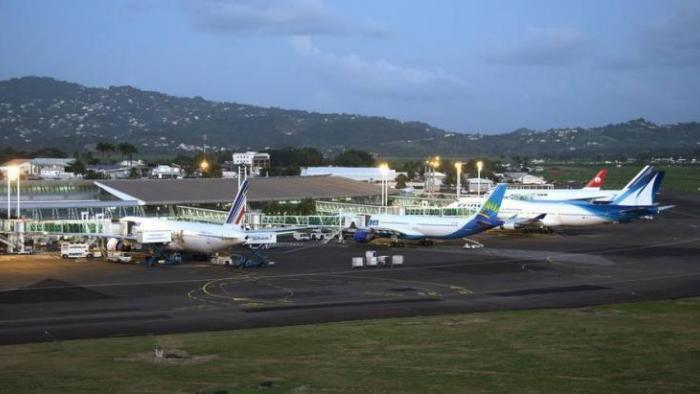 Deux millions de passagers ont transité par l'aéroport Aimé Césaire en 2019