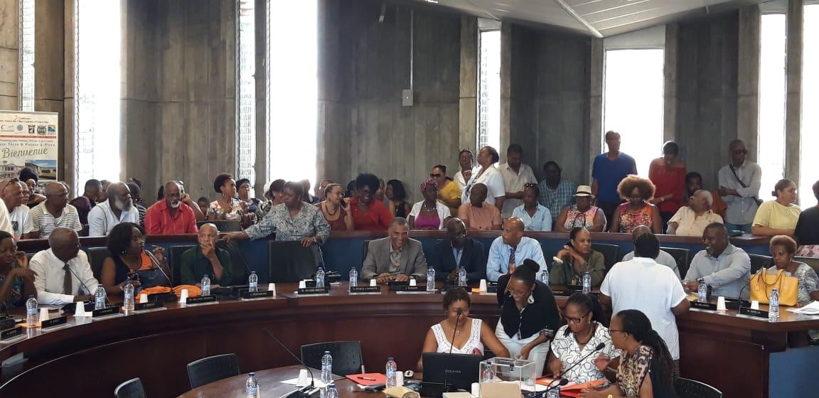 Josiane Gatibelza élue à la mairie de Pointe-à-Pitre