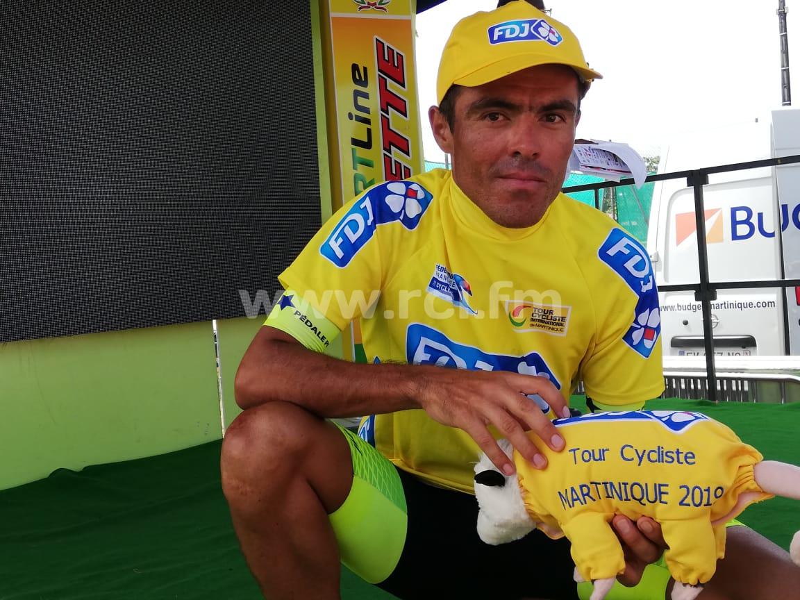 Tour cycliste 2019 : Eduin Becerra Becerra devra batailler dur pour garder son maillot jaune