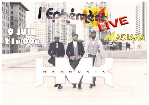 Le concert du groupe Harmonik prévu, ce mardi soir à Madiana annulé
