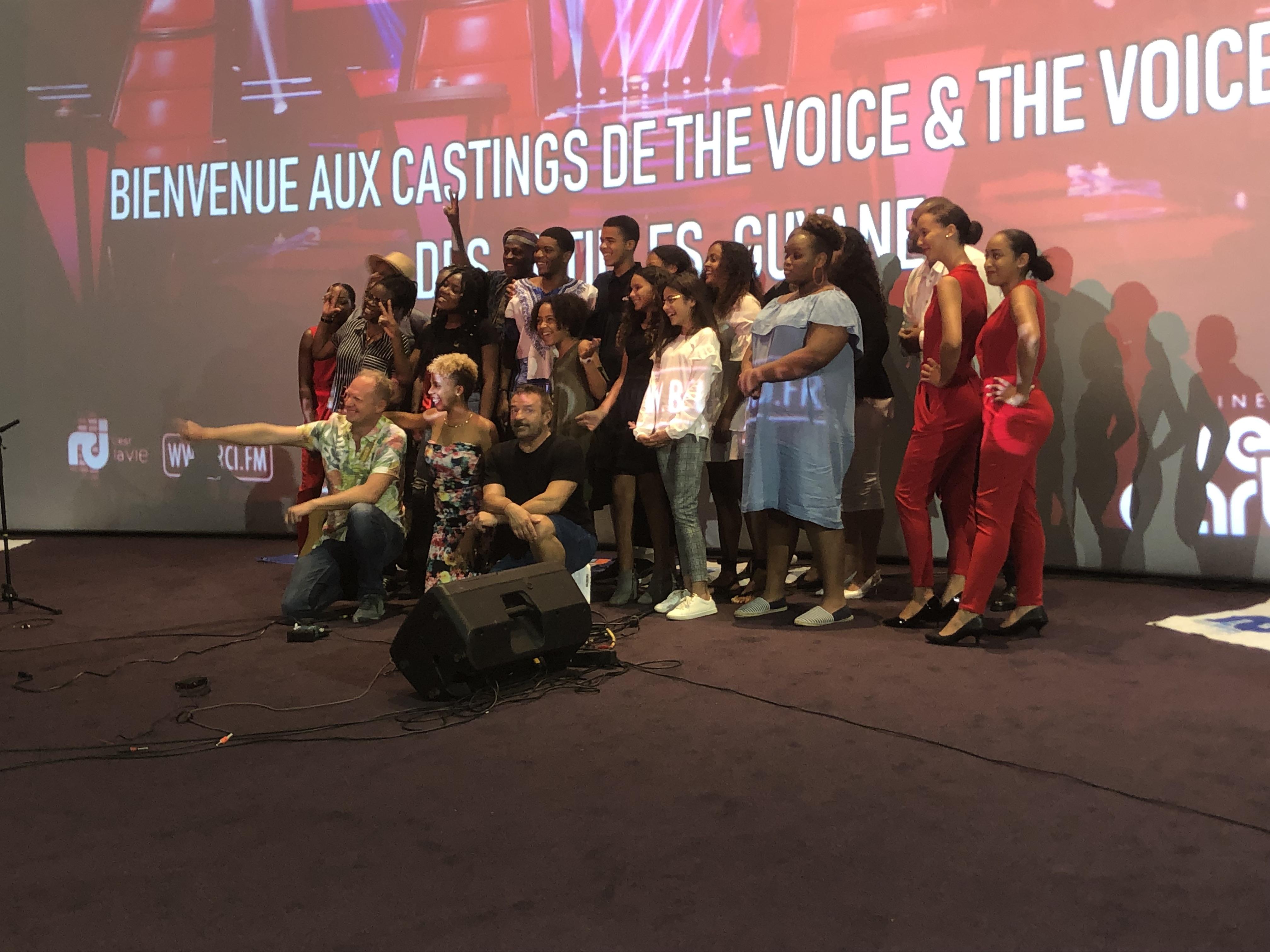 Bruno Berberes présent pour le dernier casting de The Voice Guadeloupe