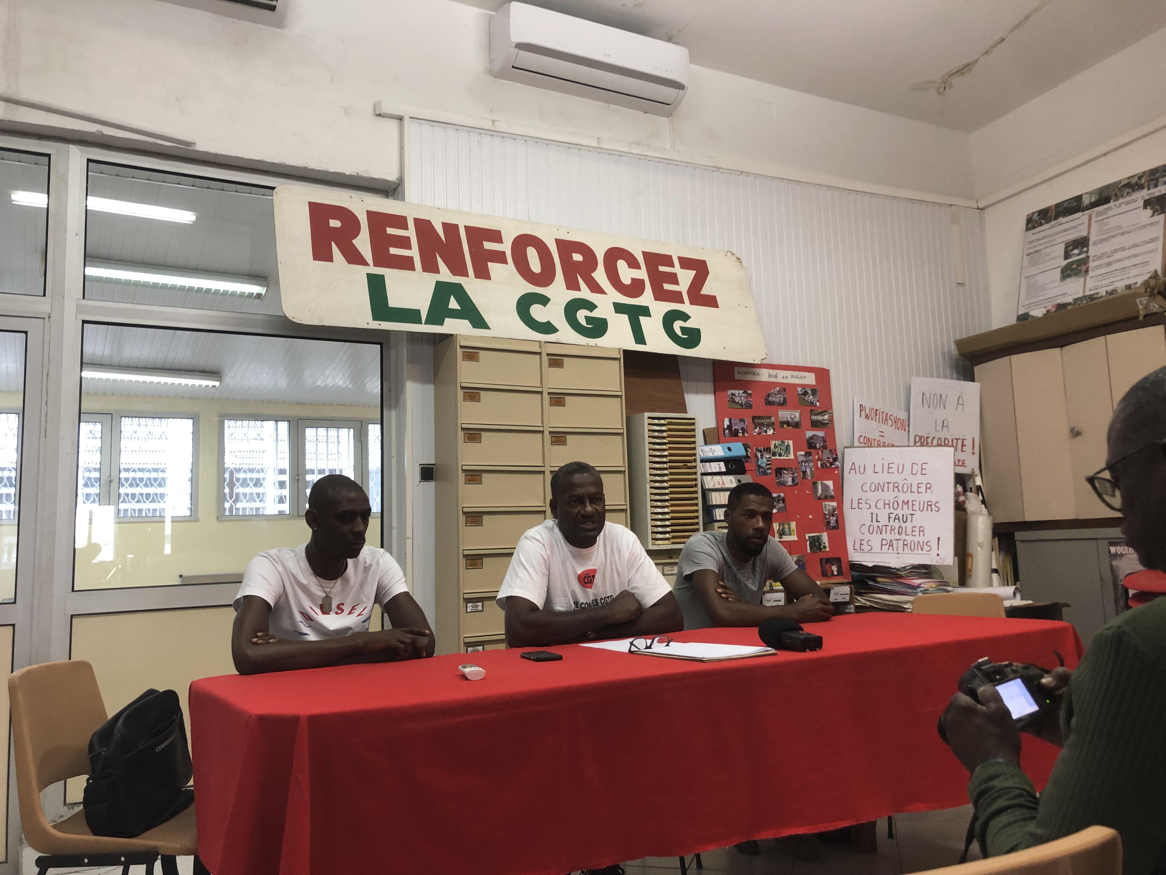 """La CGTG dénonce une """"machination"""" au sein d'Antilles Sureté Guadeloupe"""