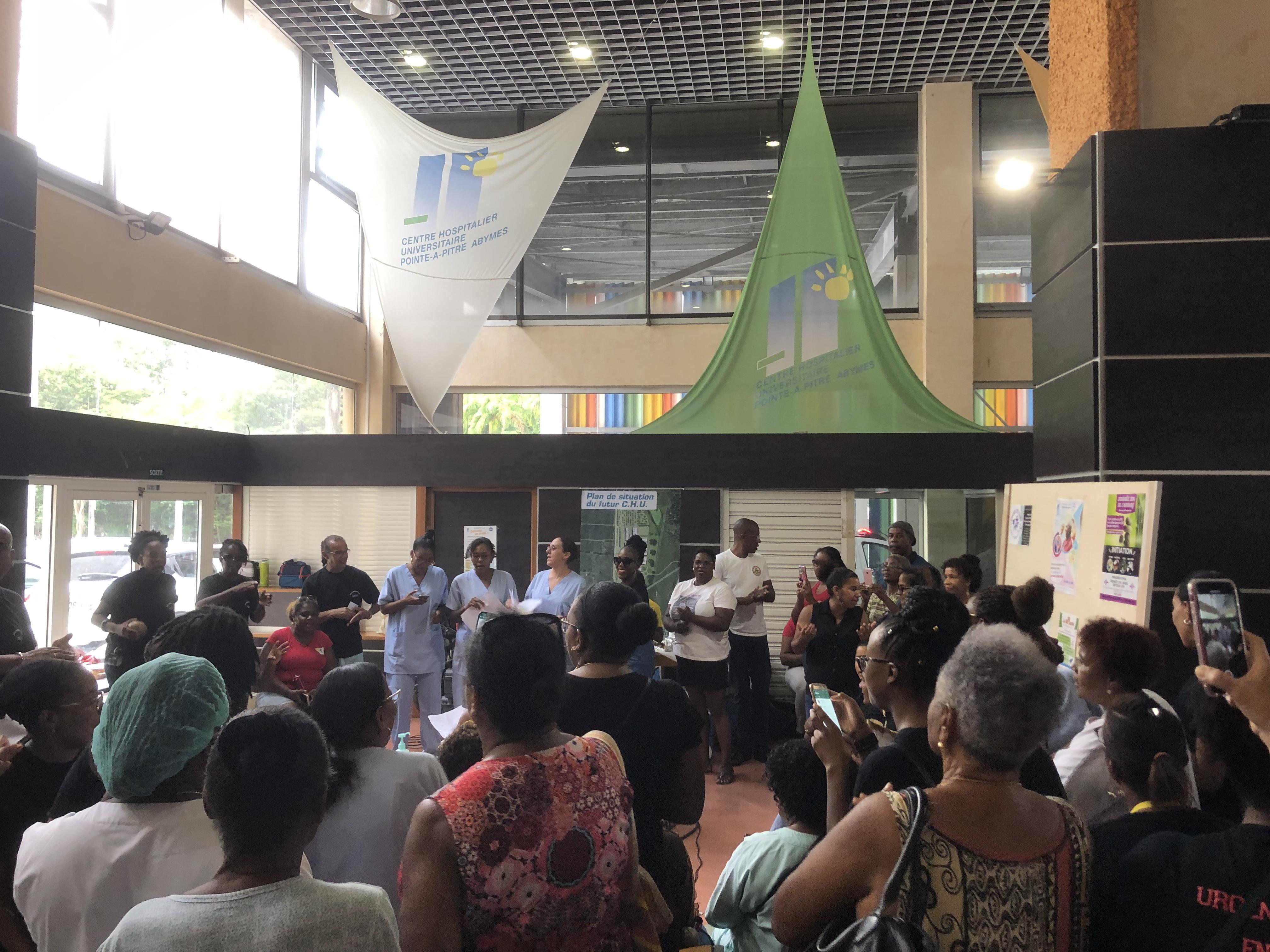 CHU : Les grévistes appellent à une mobilisation générale