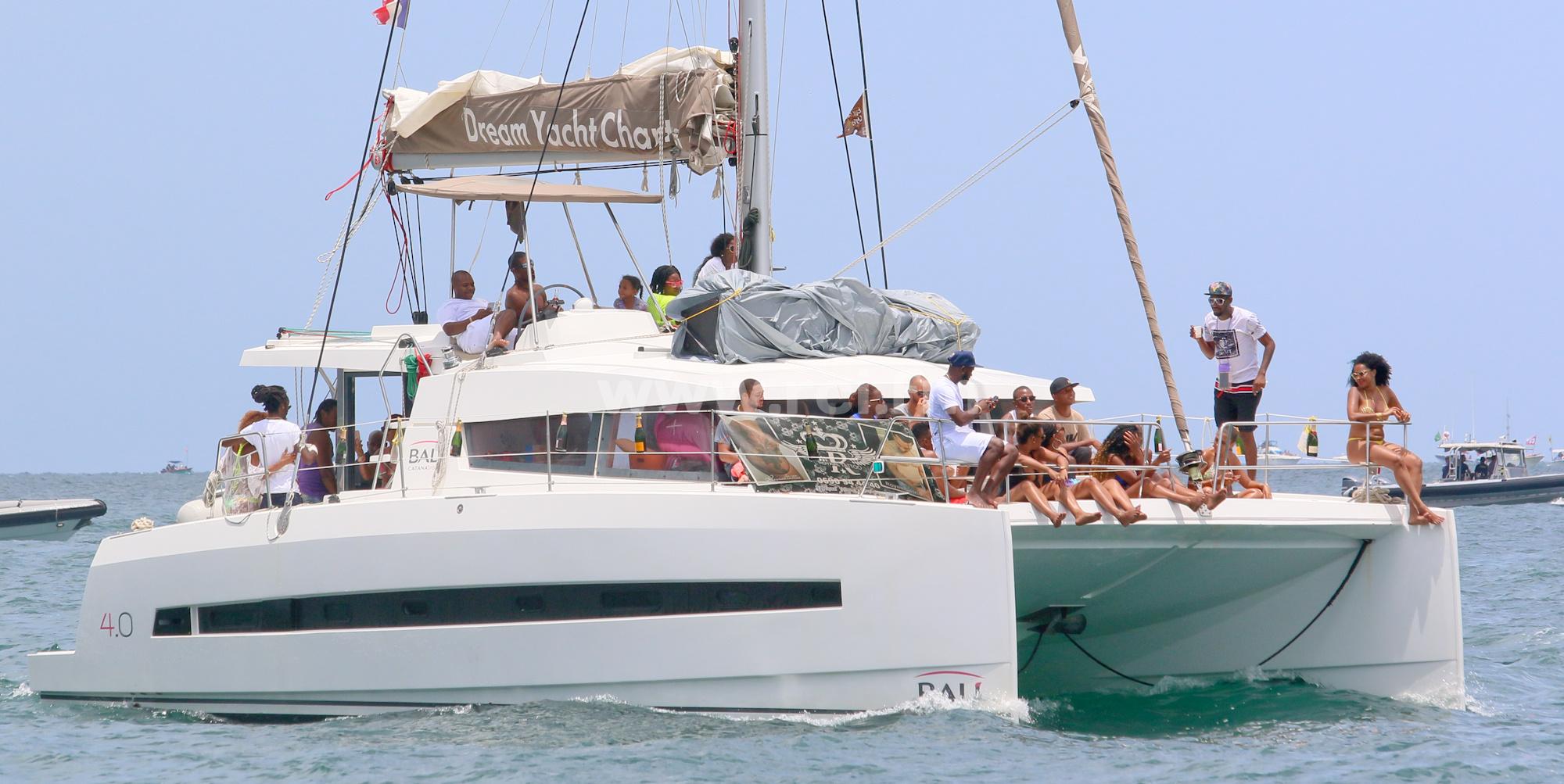 Mais que serait le tour des yoles sans les catamarans ?