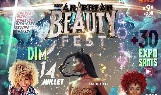 4ème édition de la Karibbean Beauty Fest au Gosier