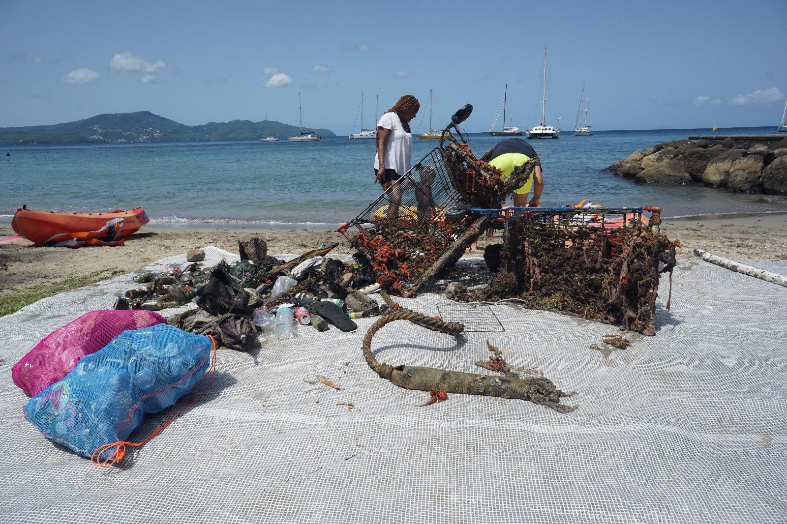 Grand nettoyage de la baie de Fort-de-France, ce samedi