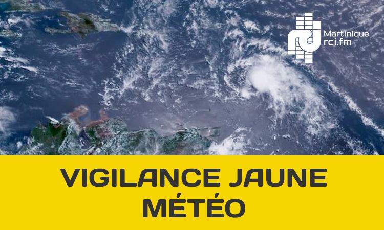 La Martinique reste en vigilance jaune ce lundi matin