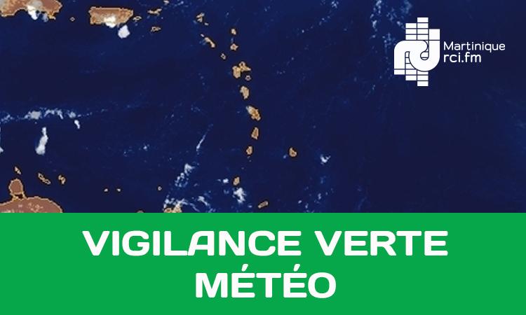 Météo : la Martinique repasse au vert