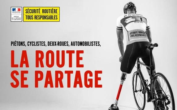 Nouvelle campagne de sécurité routière : « La route se partage »