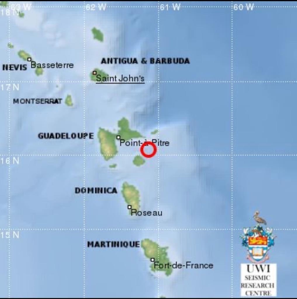 9 répliques depuis le séisme de ce jeudi matin