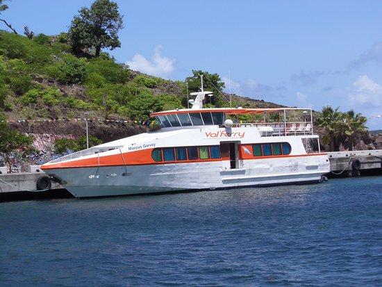 Un incident sur un bateau du Val Ferry ce week-end : aucun blessé à déplorer