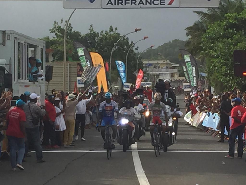 Thierry Ragot et Eddy Michel Cadet Marthe s'imposent ensemble au Lamentin, Eduin Becerra Becerra remporte le tour 2019