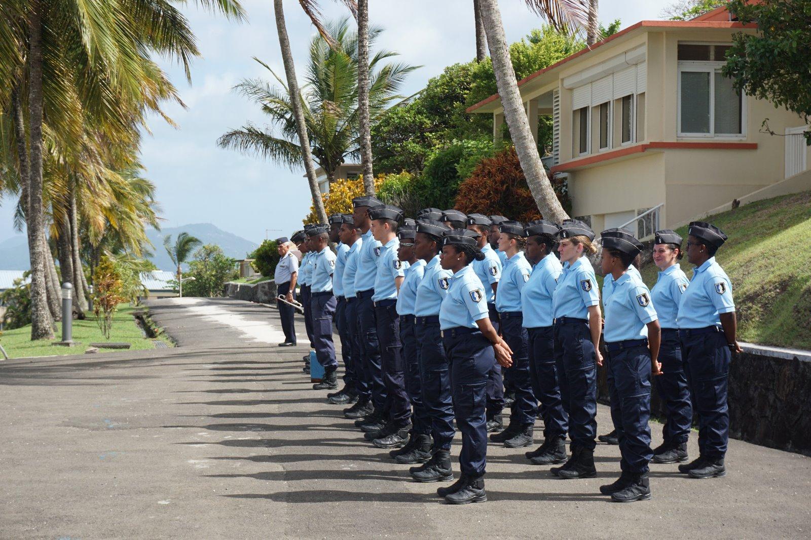 21 jeunes intègrent la réserve de la gendarmerie