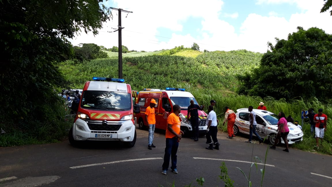 Trois spectateurs blessés dans une spéciale du Martinique Rallye Tour