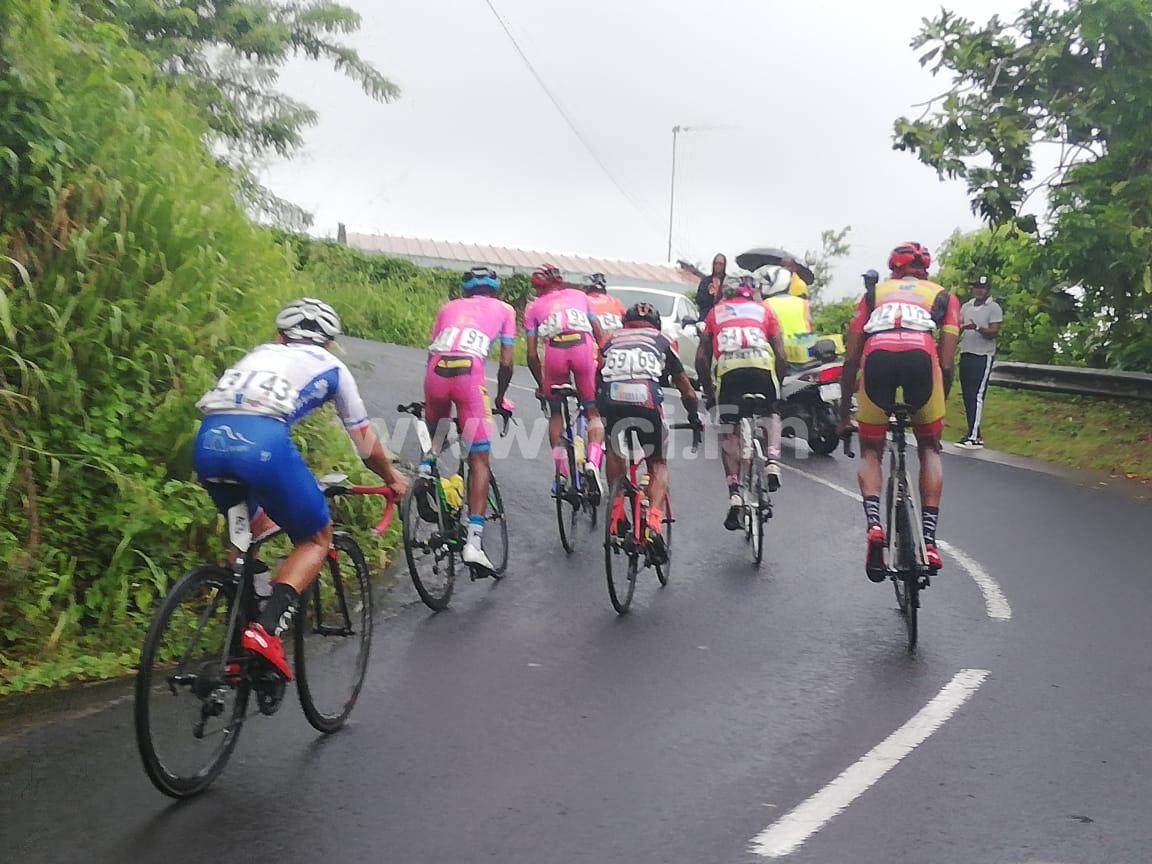 Tour cycliste 2019 : victoire de Cédric Eustache à Rivière-Pilote lors de la 8e étape