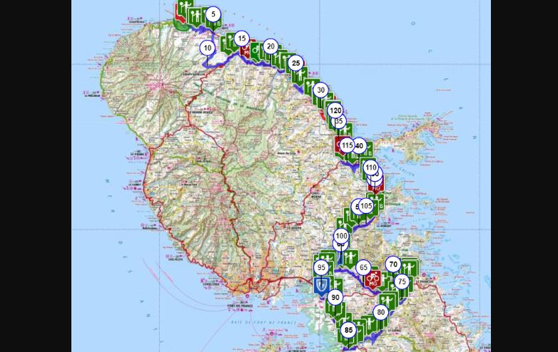 Tour cycliste 2019 : Morne Pitault et l'Estrade dans les deux sens au menu