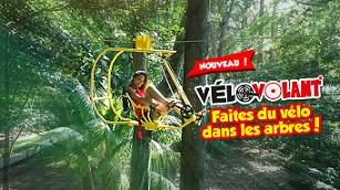 RCI Vakans': Faire du vélo à la cime des arbres