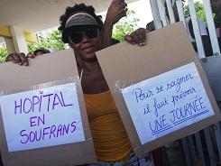 Les grévistes du CHU vont faire leur tour de la Guadeloupe
