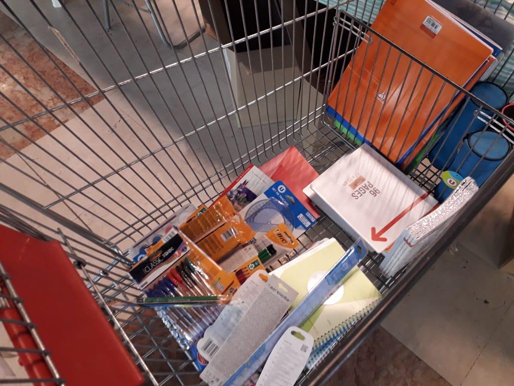 Une collecte de fournitures scolaires organisée par La Croix-Rouge, ce samedi
