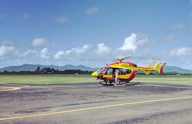 """L'hélicoptère de la sécurité civile """"Dragon 972"""" reprend du service"""