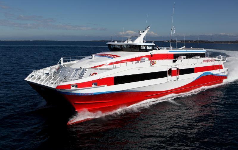 Express des îles : reprise partielle de l'activité avec la liaison Martinique/Guadeloupe