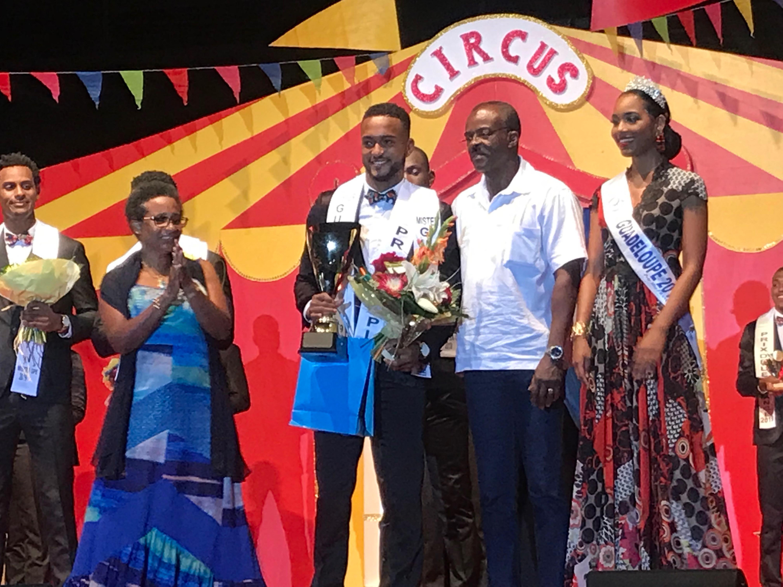 Nicolas Morvan est le nouveau mister Guadeloupe