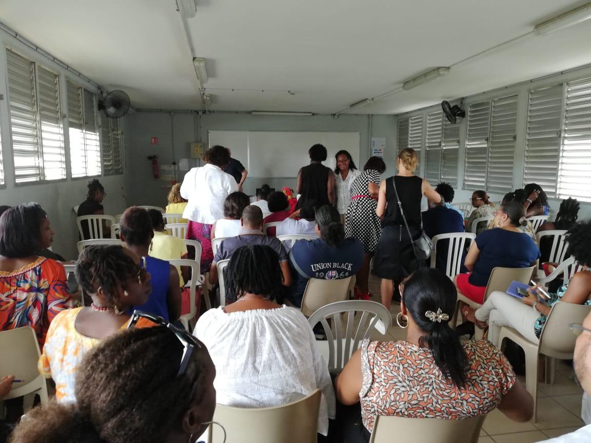Une rentrée sereine pour les enseignants du collège au Raizet