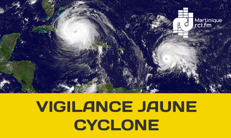 Tempête DORIAN : la Martinique passe en vigilance jaune cyclone