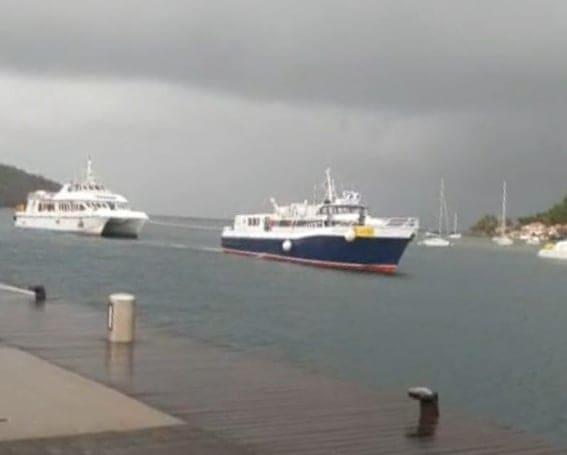 Tempête Dorian : un bateau en difficulté au large des Saintes ce mardi