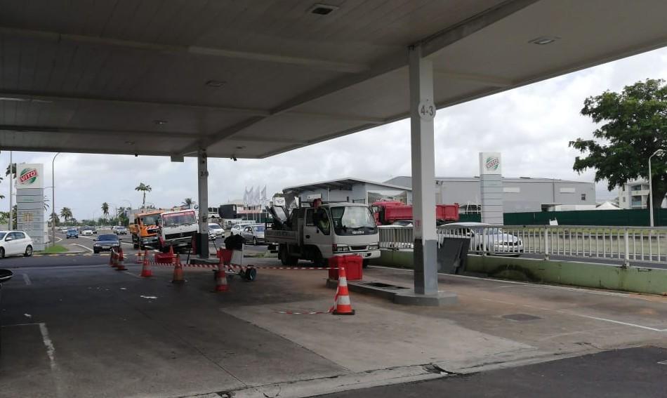 Station Vito de l'aéroport : la vente de carburants suspendue jusqu'à nouvel ordre