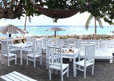 RCI Vakans': une tradition de beach bars à Marie-Galante