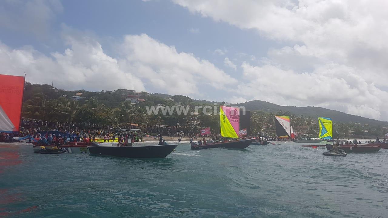 #TDY2019 : CTDM/EDF arrive en tête lors de la 6e étape à Sainte-Anne