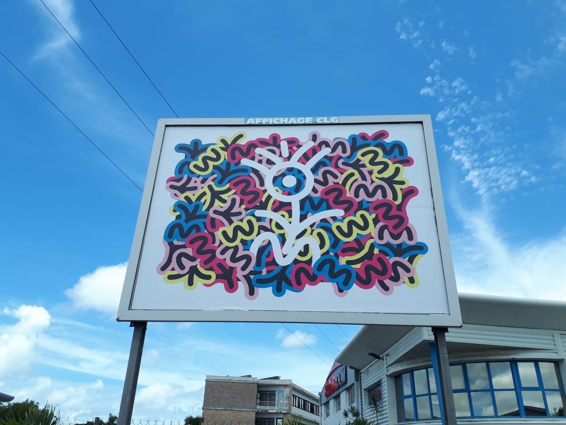 Une exposition artistique sur 1200 panneaux  4 par 3
