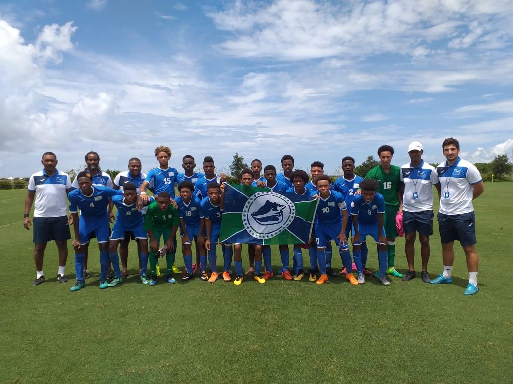 CONCACAF : la sélection de Martinique des moins de 15 ans bat Grenade