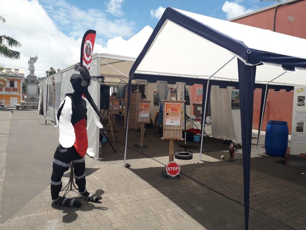 Une caravane de prévention contre les moustiques parcourt les communes de Martinique