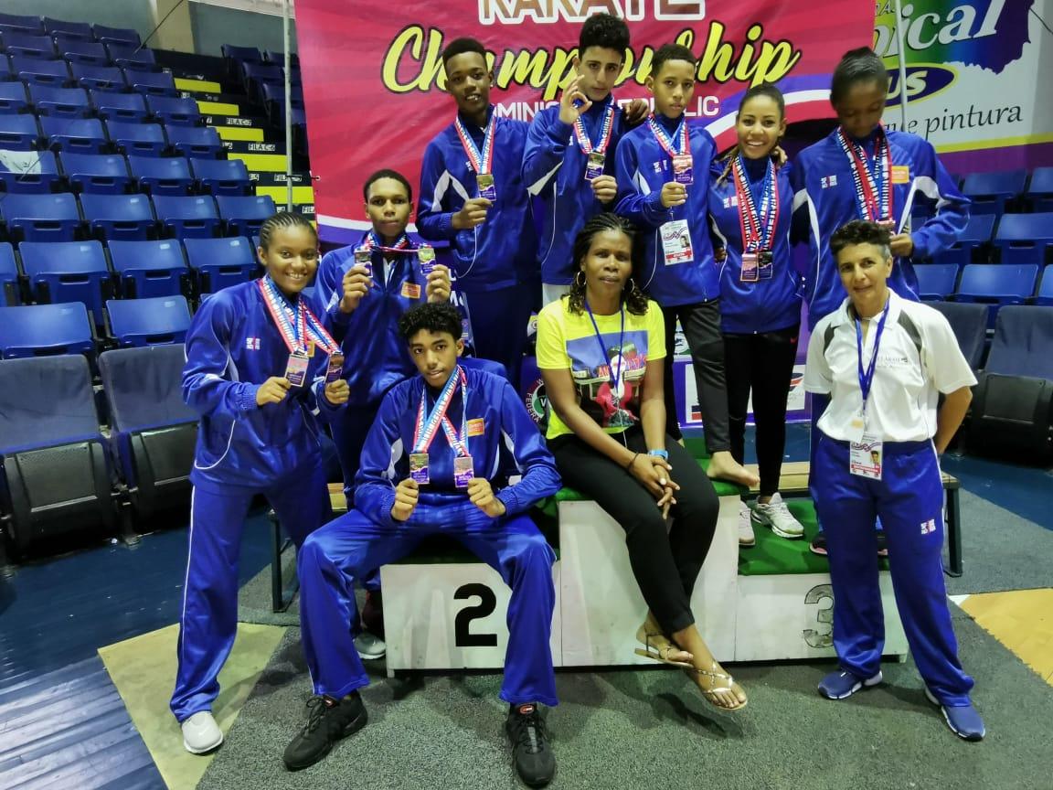 Les karatékas martiniquais rapportent 14 médailles de la République Dominicaine