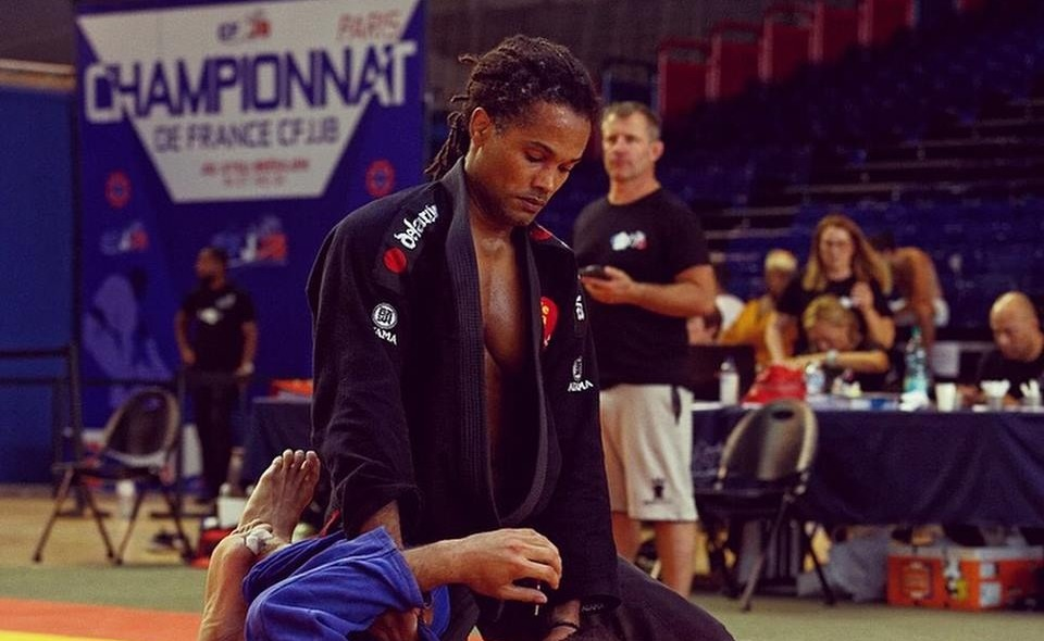 David Pierre-Louis est prêt pour les championnats du monde de Ju jitsu brésilien